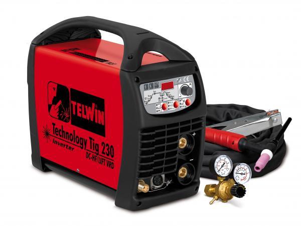 Technology Tig 230DC/HF - APARAT DE SUDURA TELWIN tip TIG 0