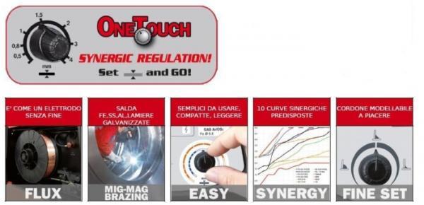 TECHNOMIG 150 DUAL SYNERGIC - APARAT DE SUDURA TELWIN tip MIG-MAG 1