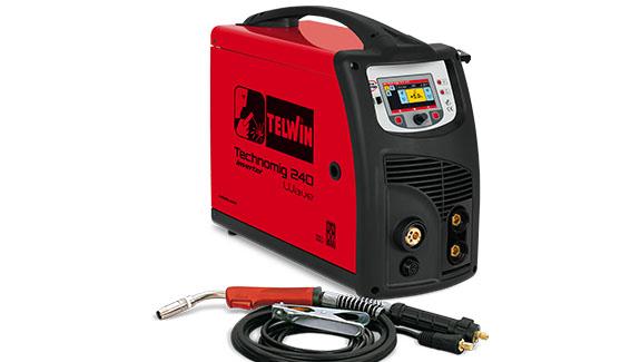 TECHNOMIG 240 WAVE - APARAT DE SUDURA TELWIN tip MIG/TIG/MMA 0