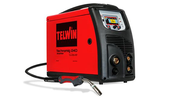 TECHNOMIG 240 WAVE - APARAT DE SUDURA TELWIN tip MIG/TIG/MMA 1