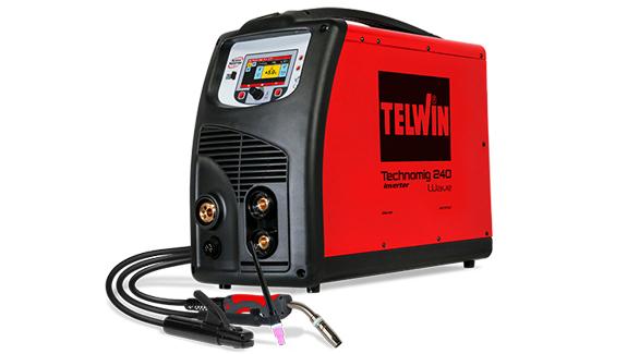 TECHNOMIG 240 WAVE - APARAT DE SUDURA TELWIN tip MIG/TIG/MMA 2