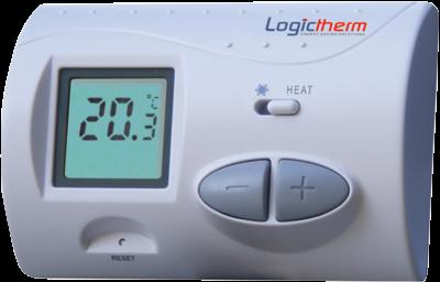Termostat de ambient digital neprogramabil cu fir Logictherm C3 0