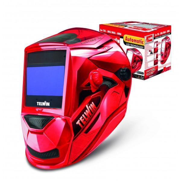 VANTAGE RED XL - Masca de sudura cu cristale lichide TELWIN 1