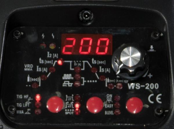 WS 200-P - Aparat profesional de sudura TIG/WIG Intensiv 5
