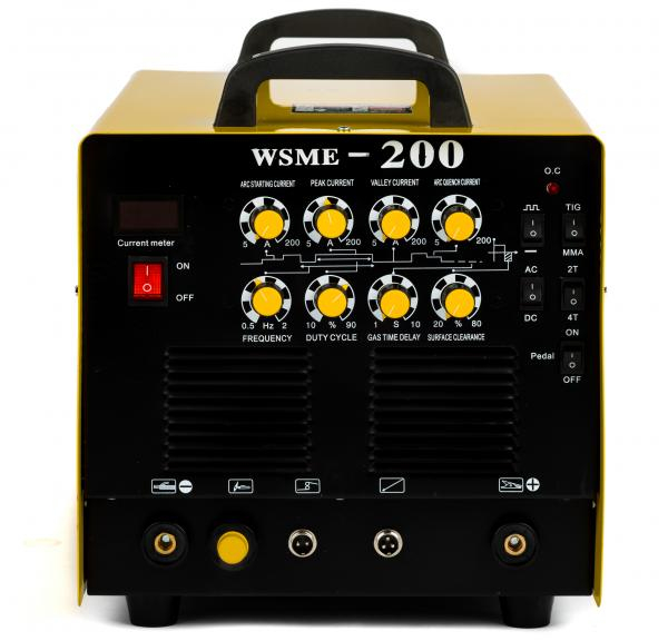 WSME 200 AC/DC - Invertor de sudura aluminiu TIG/WIG INTENSIV 1