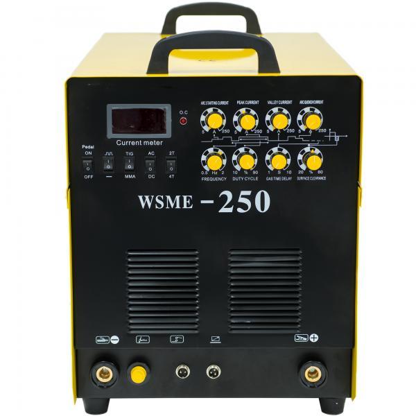 WSME 250 AC/DC 400V - Invertor de sudura aluminiu TIG/MMA INTENSIV 2