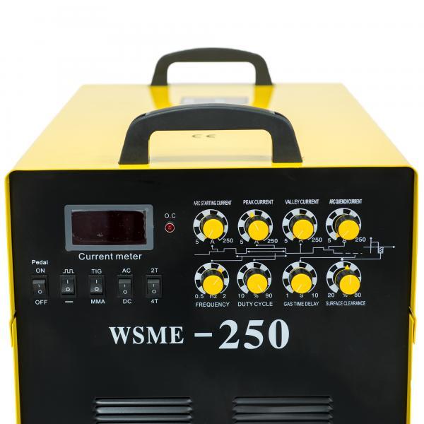 WSME 250 AC/DC 400V - Invertor de sudura aluminiu TIG/MMA INTENSIV 3