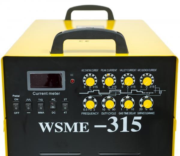 WSME 315 AC/DC 400V - Invertor de sudura aluminiu TIG/MMA INTENSIV [6]