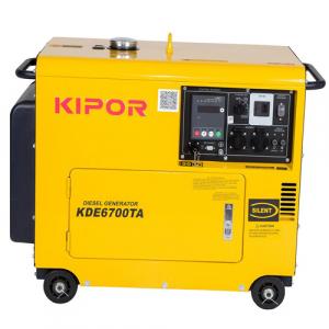 Generator insonorizat Kipor KDE 6700 TA1