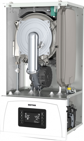 Centrala termica in condensare Motan Condens 100 25 - 25 kw C38GC25-PV1, kit evacuare  inclus, model 2021 [2]
