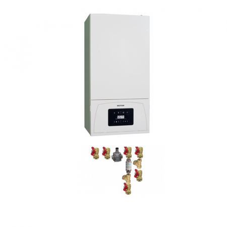 Centrala termica Motan Condens 050 24 kW, C34GV24-PV2, kit evacuare inclus si kit instalare [0]
