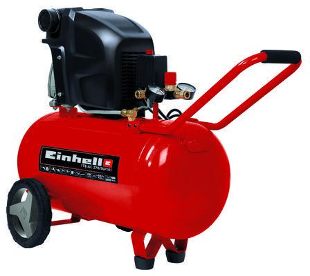 Compresor Einhell TE-AC 270/50/10 V, 1800 W, cu ulei, 50 litri, 270 l/min, 10 bar, monofazat [0]