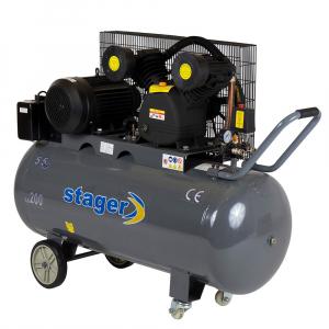 Compresor Stager HM-V-0.6/200 200L 8bar0