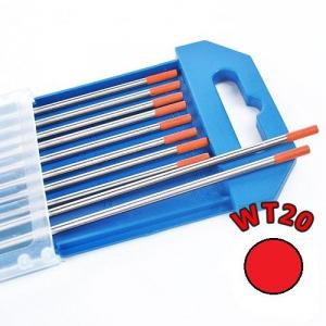 Electrozi wolfram WT20 (rosu) d=2.0 mm0