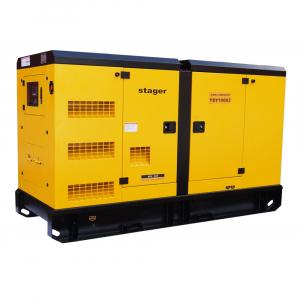 Generator Diesel Insonorizat Stager YDY100S3 1500 rpm0