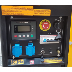 Generator uz general Stager YDE12E3, diesel, trifazat2