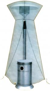 Husa protectie pentru incalzitor terasa Zobo H1107 si H1207G1