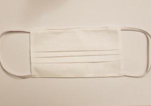 Masca de protectie reutilizabila din bumbac 100%, alba0