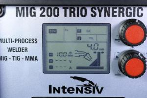 MIG 200 TRIO SYNERGIC -  Aparat de sudura INTENSIV tip MIG/TIG/MMA3