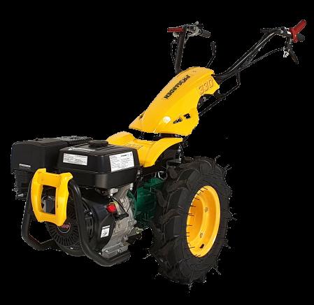 ProGARDEN Campo U9 motocultor multifunctional 9CP, benzina, 3+2 viteze, reductor [BT330/G177]