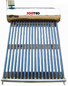 Panou solar nepresurizat Sontec SP-470-58/1800-150/18-C cu boiler 150 litri si 18 tuburi0