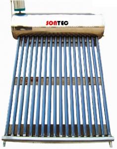 Panou solar nepresurizat Sontec SP-470-58/1800-200/24-C cu boiler 200 litri si 24 tuburi0
