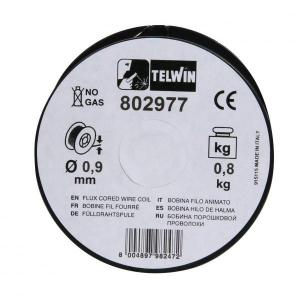 Sarma sudura cu flux Telwin 0.9 mm rola 0.8 kg - pentru sudura fara gaz1