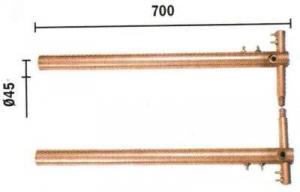 Set brate 700mm cu electrozi drepti TELWIN1