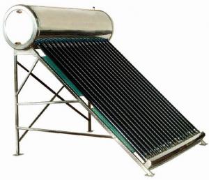 Sistem solar presurizat Sontec I SPP-470-H58/1800 - 145 litri - 15 tuburi0