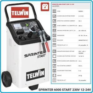SPRINTER 6000 START -  Robot produs de TELWIN1