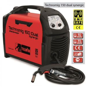 TECHNOMIG 150 DUAL SYNERGIC - APARAT DE SUDURA TELWIN tip MIG-MAG2