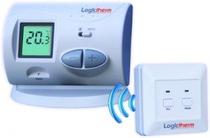 Termostat de ambient digital neprogramabil fara fir Logictherm C3RF