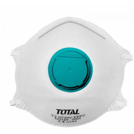 TOTAL - Masca protectie praf - 4 straturi P2 (INDUSTRIAL)