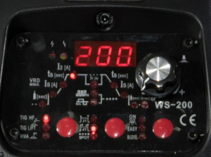 WS 200-P - Aparat profesional de sudura TIG/WIG Intensiv5