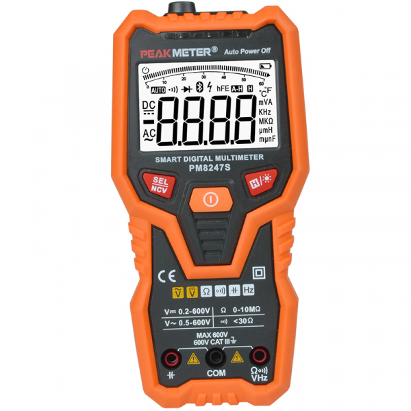 Digital Multimeter Voltmeter with NCV Frequency PM8248S 0