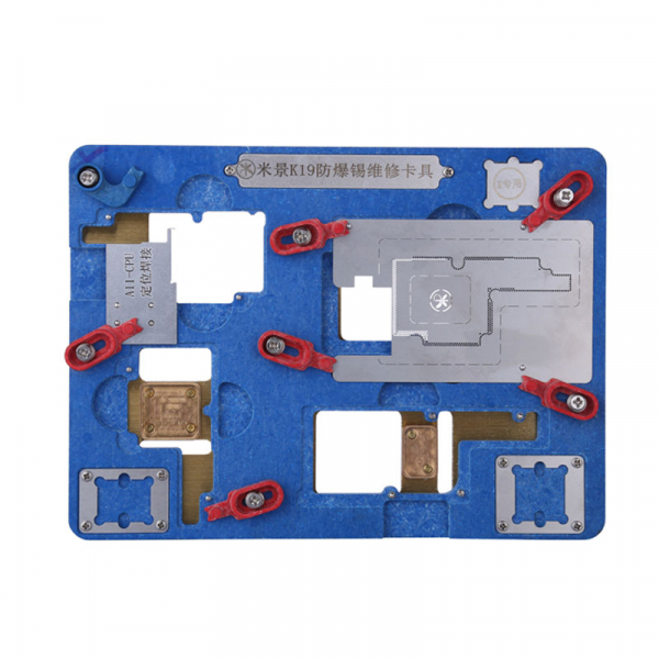 MJ K19 Explosion-pro of Motherboard Repair PCB Holder for iPhone X 0
