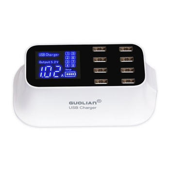 QC 3 | 8 Port USB Quick Charger Hub With 3.0 Type-C Port 0