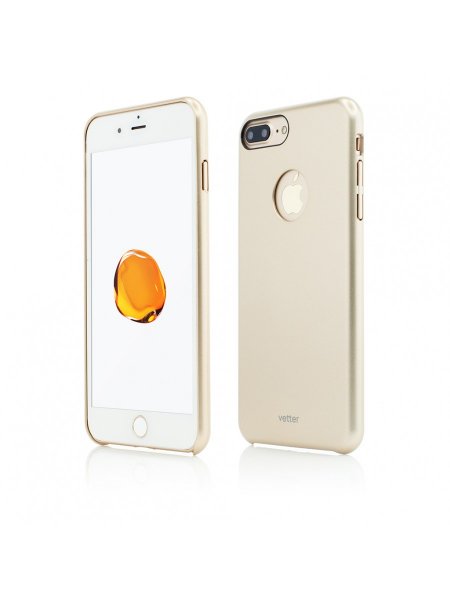 Husa iPhone 7 Plus | Clip-On Slim Magnetic Series | Gold 0