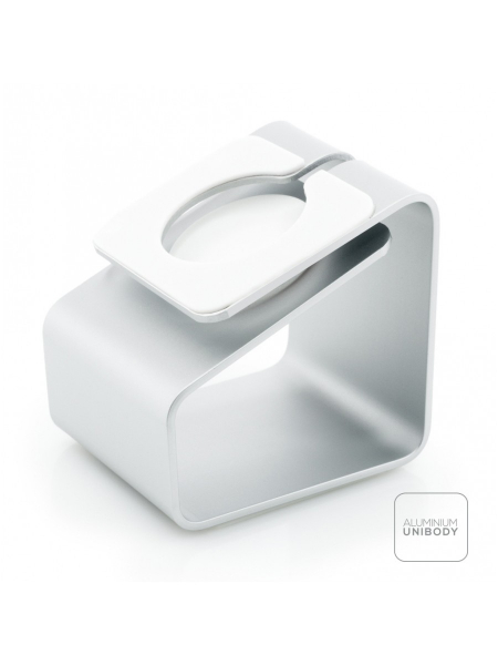 iWatch Charging Station | Aluminum Silver 5