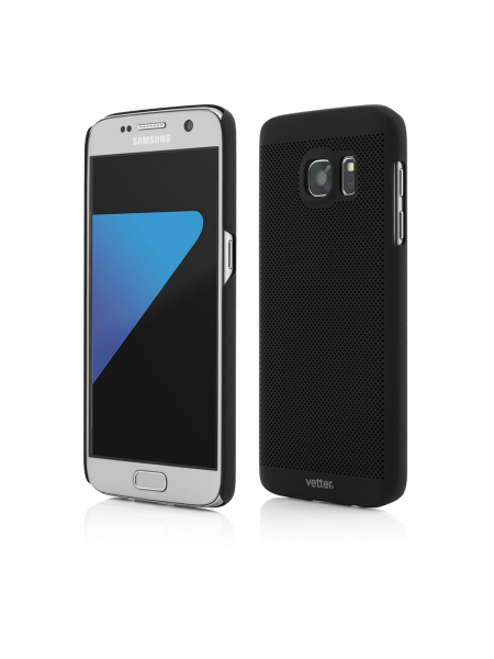Husa Samsung Galaxy S7 | Clip-On Vent Series | Black 0