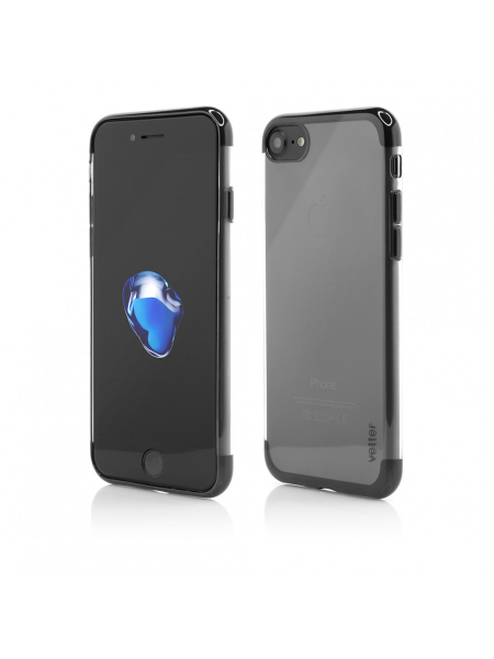 Husa iPhone 8, 7 | Clip-On Shiny Soft Series | Black 0