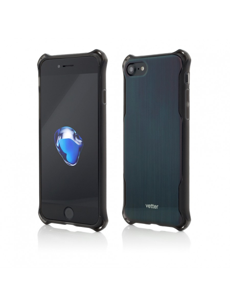 Husa iPhone 8, 7 | Clip-On Hybrid Xtra Protection | Graphite 0