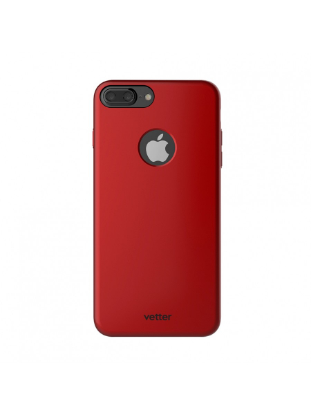 Husa iPhone 7 Plus | Clip-On Slim Magnetic Series | Metal Red 1