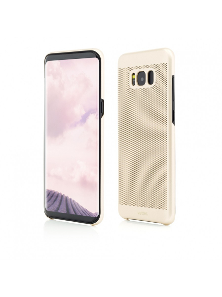 Husa Samsung Galaxy S8 Plus G955 | Clip-On Vent Series | Gold 0
