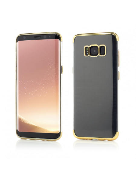 Husa Samsung Galaxy S8 Plus G955 | Smart Case Shiny Soft Series | Gold 0