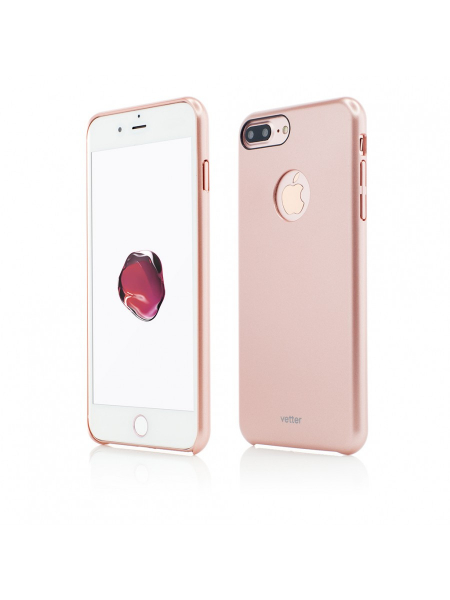 Husa iPhone 7 Plus | Clip-On Slim Magnetic Series | Rose Gold [0]