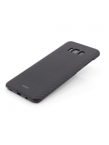 Husa Samsung Galaxy S8 G950 | Smart Case Carbon Design | Rubber Feel | Black 2