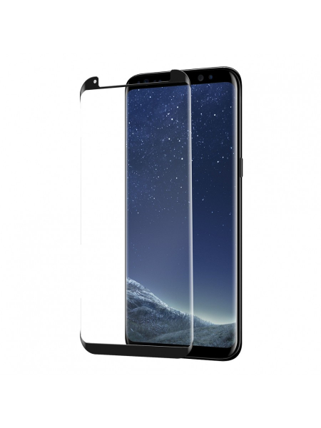 Folie Protectie Sticla Samsung Galaxy S8 Plus G955 | 3D Tempered Glass Easy Fit | Black 1