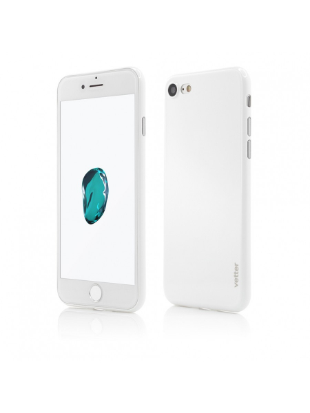 Husa iPhone 8, 7 | Clip-On | Ultra Thin Air Shiny Series | White 0