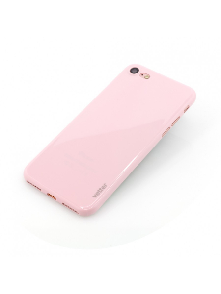Husa iPhone 8, 7 | Clip-On | Ultra Thin Air Shiny Series | Pink 2